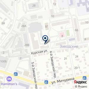 «Всероссийское Общество Слепых» на карте