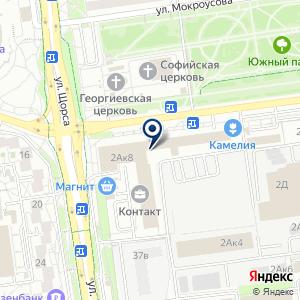 «РЕСУРС» на карте