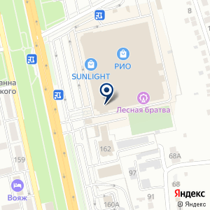 «Связной» на карте