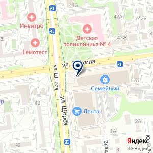 «Крокус» на карте