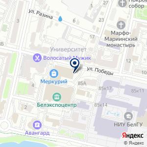 «Спортмикс» на карте