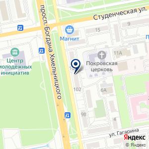«Status» на карте