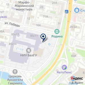 «Высшая школа управления» на карте