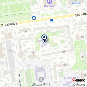 «Детская музыкально-хоровая школа г. Белгорода» на карте