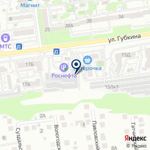 «Белгород-СТО» на карте