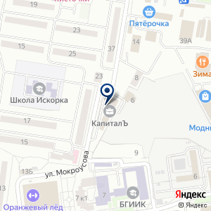 «Нанопротэк-Белгород» на карте