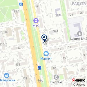 «Нотариус Ушакова Е.Ю» на карте