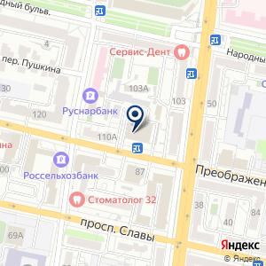 «Грань» на карте
