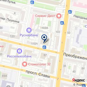 «Магазин детской одежды и чулочно-носочных изделий» на карте
