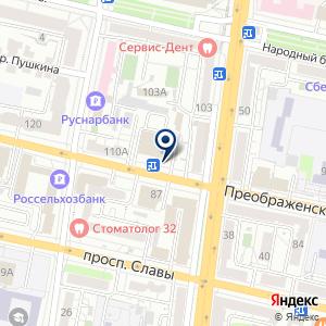 «Роспечать» на карте
