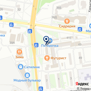 «Дон Рулон» на карте