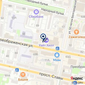 «День Ночь» на карте