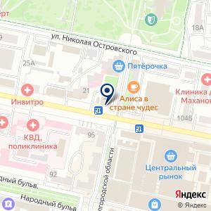 «Газетный двор» на карте