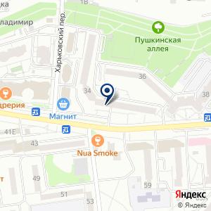 «Нотариус Бондарь В.П» на карте