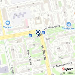 «Народное заведение» на карте