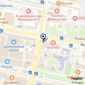 «Мегафон» на карте