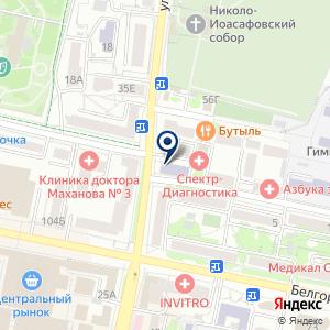 «Нотариус Шевченко Ю.В» на карте