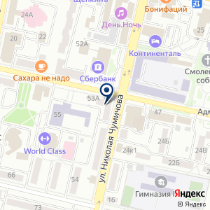 «Адвокатский кабинет Бариновой Т.Н» на карте