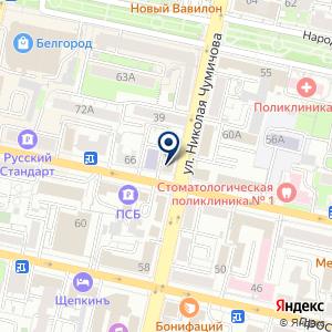 «Белгородэнергосбыт» на карте