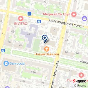 «Кабинет психолога Оксаной Белоусовой» на карте
