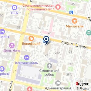 «Баклажан» на карте