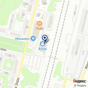 «АТЛАС торговый центр» на карте