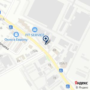 «РОСКРОВ» на карте