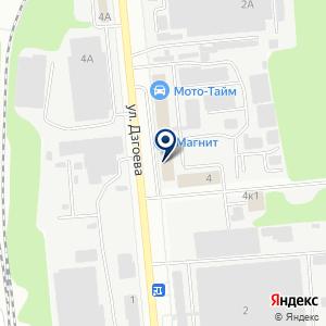 «Адриэл» на карте