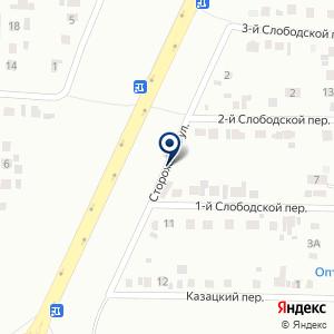 «ГИДРОКОР» на карте