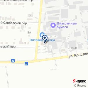«Каскад» на карте