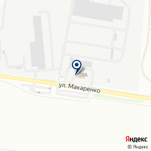 «АэроБел» на карте