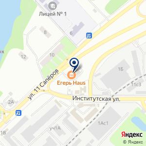 «Егерь HAUS» на карте