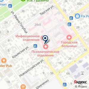 «Городская больница» на карте