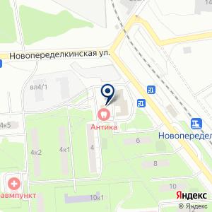 «Аветис» на карте