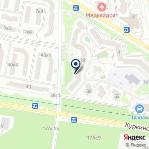 «Бьюти Парк» на карте
