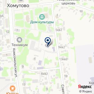 «Центр Недвижимсти Хомутово» на карте