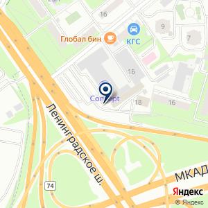 «Concept hotel» на карте