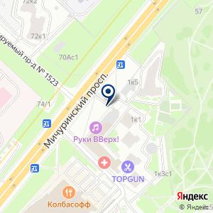 «Юнисервис» на карте