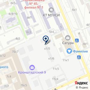 «Авант-Эксперт» на карте