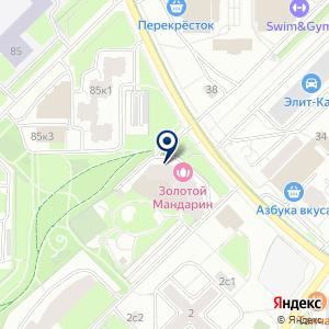 «Золотой Мандарин» на карте
