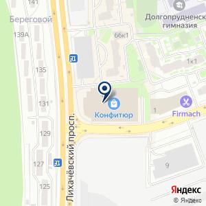 """«Натяжные потолки  """"Мандарин""""» на карте"""