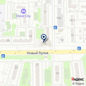 «Первая потолочная» на карте