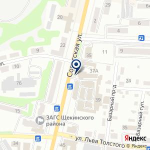 «Сеть магазинов отделочных и строительных материалов» на карте