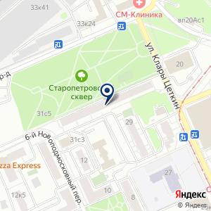 «Арт Сити Москва» на карте