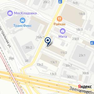 «Центр новых технологий» на карте