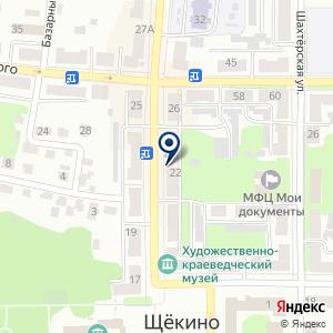 «Эталон» на карте