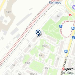 «Секретница 2.0» на карте