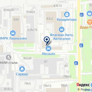 «ФЛАГМАН АВТО» на карте