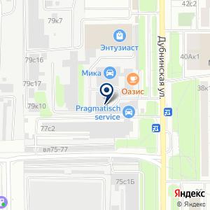 «МосАвто» на карте