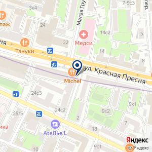 «Астон» на карте